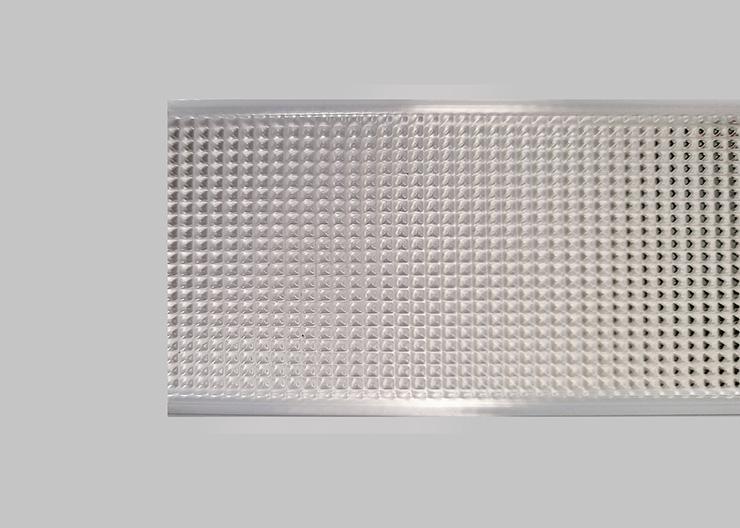 Diffused Microprismatic Diffuser